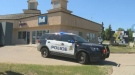Edmonton police said four to five thieves robbed this Bell store in west Edmonton on Saturday, May 26, 2018.