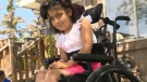 Julia Khaled says she is so glad to have the help from the CPS and the media to get her wheelchair back.