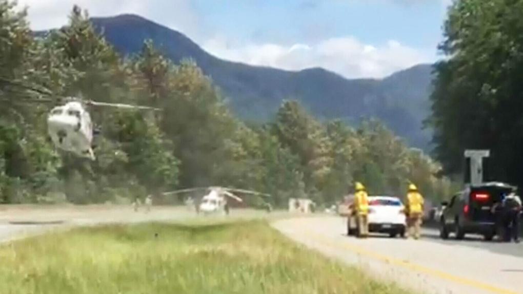 Fatal crash on Highway 1 | CTV News