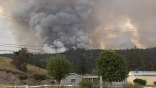 Crews battling 2 wildfires burning out of control