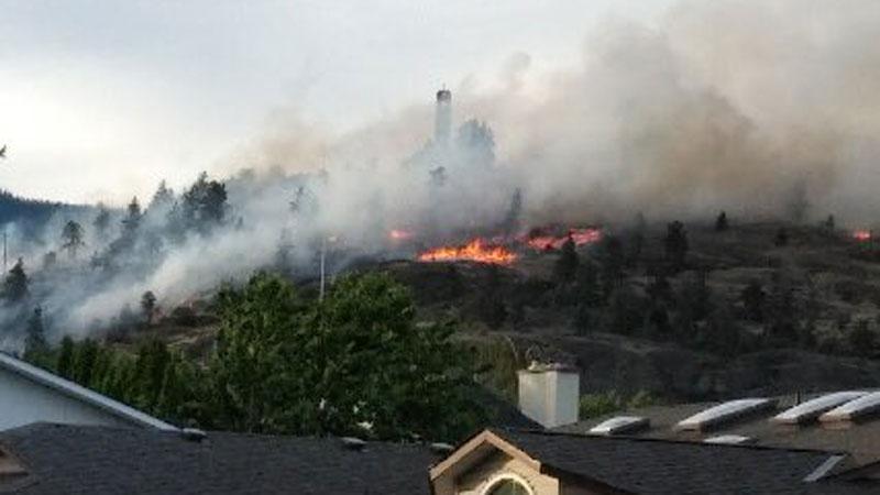 Mission Hill fire
