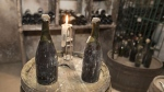 Vintage 1774 Jura French wine sells for record 103,700 euros. (© SEBASTIEN BOZON / AFP)