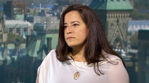 Justice Minister Jody Wilson-Raybould on CTV's Question Period on Sunday May 27, 2018. (CTV News)