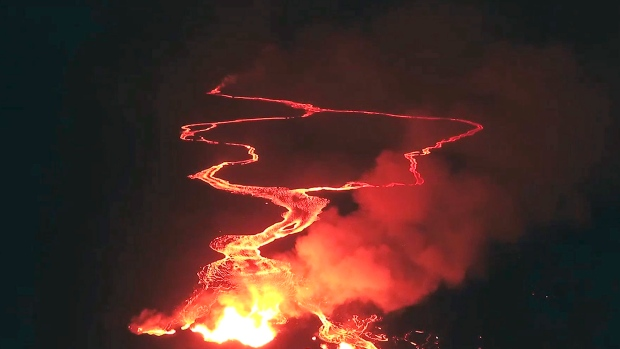 Lava from Hawaii's Kilauea volcano breaches geothermal plant property