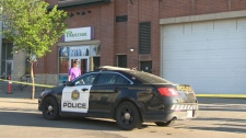 A man in his 20s was found in medical distress on 15 Avenue S.E. on Sunday morning. The victim later died in hospital.