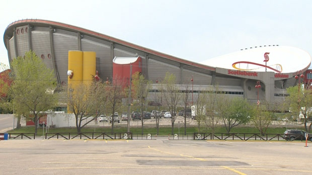 The Scotiabank Saddledome was built in 1983 and, after renovations in 1994, accommodates just over 19,000 people.