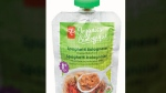 CTV News Channel: Organic baby food recalled