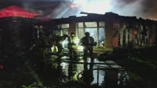 Dozens of seniors displaced by fire