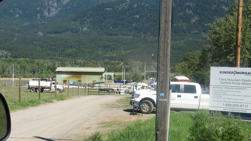 Darfield pump station