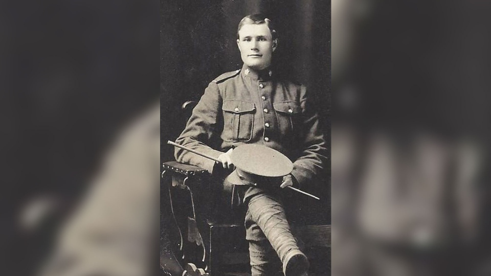 "Pte. John ""Jack"" Henry Thomas is shown in this photo. (Department of National Defence)"
