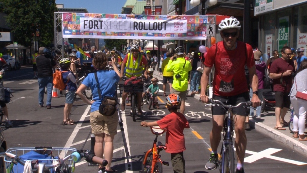 Fort Street Bike Lane