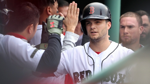 Martinez Launches Another Monster Homer, Red Sox Complete Sweep Of Jays