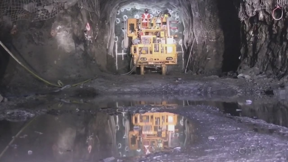 Mining is important to Northern Ontario's economy