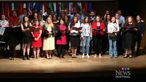 CTV Montreal: Young opera singers in town