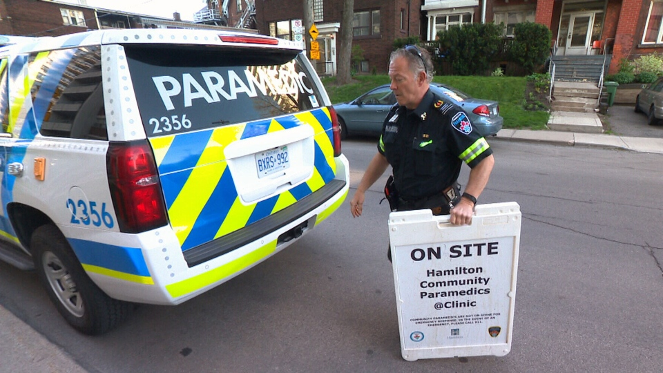 Hamilton paramedic Chris Bayards says the program makes a lot of sense, preventing chronic illnesses from worsening to an emergency situation that requires a call to 911.