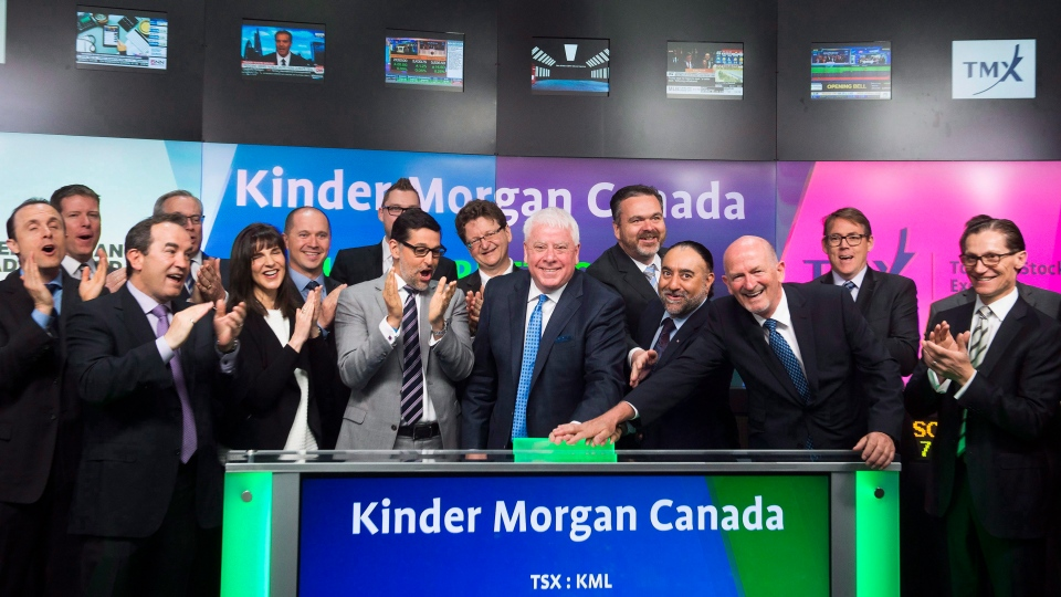 Kinder Morgan Canada Limited opens the market