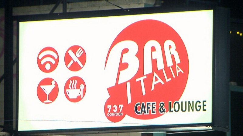 Police said no one injured after shooting outside of Bar Italia around 1 a.m. Saturday (file image)