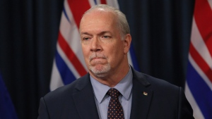 During his latest address last week, Premier John Horgan said he was optimistic about how the province is handling the coronavirus pandemic. (THE CANADIAN PRESS/Chad Hipolito)