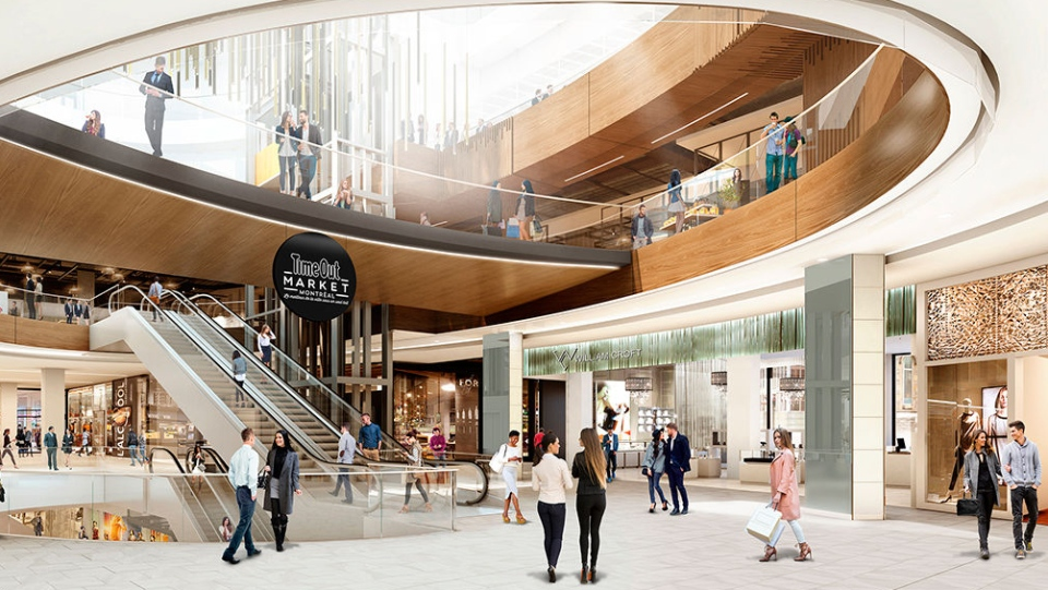 The Time Out Market Montreal is expected to open in the city's downtown in 2019. (Ivanhoe Cambridge)