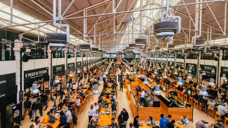The market is modelled after the wildly successful Time Out Market Lisbon in Portugal. (Ivanhoe Cambridge)