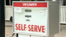 Ghost Station - gas pump