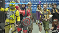 Cosplayers at Sudbury Graphic-Con