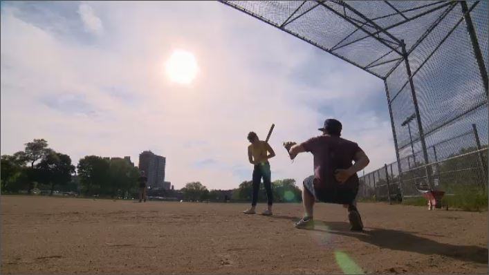 Even though it's been used by players as a home field for over five decades, the city cites safety concerns among their reasons for shutting down the North field in Jeanne-Mance park altogether. (CTV Montreal)