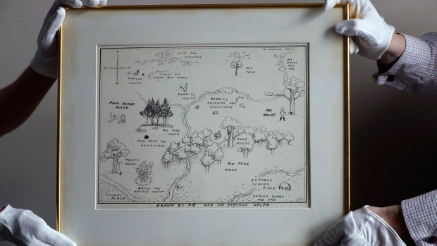 Pooh's Original Hundred-Acre Wood Map Sells for Auction Record