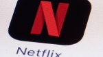 The Netflix logo on an iPhone in Philadelphia on Monday, July 17, 2017. THE CANADIAN PRESS/AP, Matt Rourke