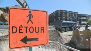 But although the construction is inevitable, city officials say this may not necessarily be a repeat of the last work blitz on St. Denis. They're implementing new measures to ensure work goes smoothly, and that street traffic isn't entirely compromised. (CTV Montreal)
