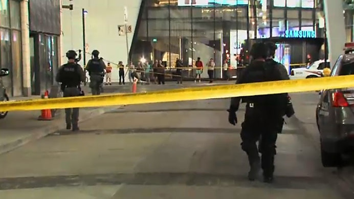 Yonge Dundas Square shooting