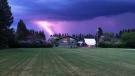Balmoral storm. Photo by Gaylene Robertson.