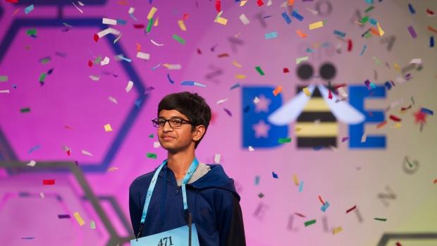 Karthik Nemmani wins Scripps Spelling Bee