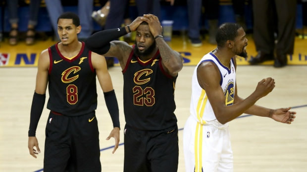 3c38ac764d8 ... 51 points to win NBA Finals Game 1. LeBron James leads Cavaliers in loss  to Warriors