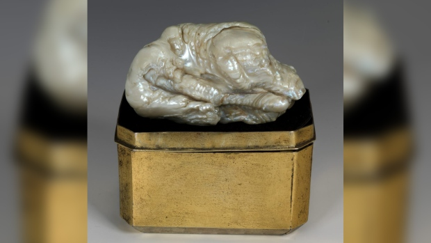 World's largest freshwater pearl, Sleeping Lion, fetches $374,000 at auction