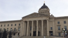 File image of the Manitoba legislature.