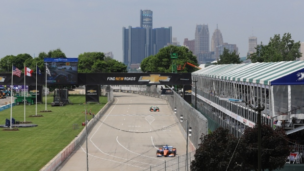 The Chevrolet Detroit Grand Prix on Belle Isle, Mich., on Friday, June 1, 2018. (Melanie Borrelli / CTV Windsor)
