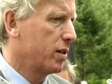 Toronto Mayor David Miller responds to Baird's comments on Tuesday afternoon, June 9, 2009.