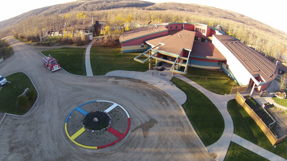 Okimaw Ohci Healing Lodge is shown here in this photo supplied by Correctional Service Canada.