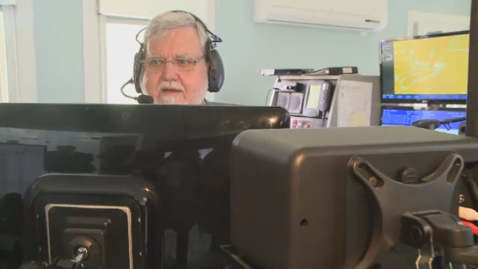 Marine radio operator signs off after 50 years on the job