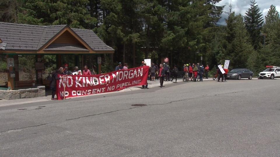 Trans Mountain protest