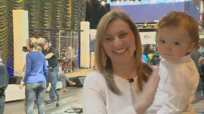 This year's telethon was extra special for Maria Panopalis and her son Marco, who both received lifesaving care from the IWK.