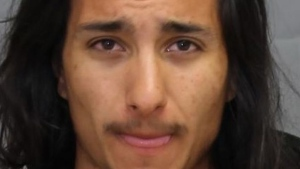Yostin Murillo, 22, has been charged with first-degree murder (Photo: Toronto Police)