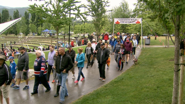 The Canadian Walk For Veterans - Page 2 Image