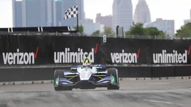 IndyCar Delayed After GM Executive Crashes Pace Car Into Wall