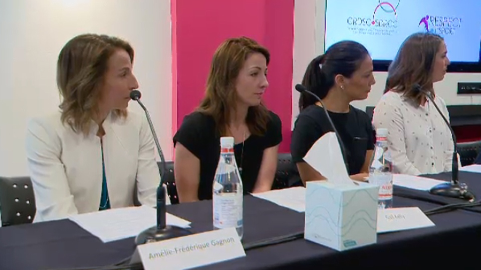 Amelie Frederique-Gagnon, Gail Kelly, Anna Prchal,