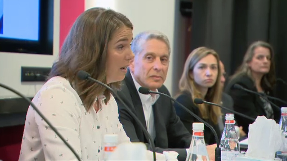 Genevieve Simard, sexual abuse victim