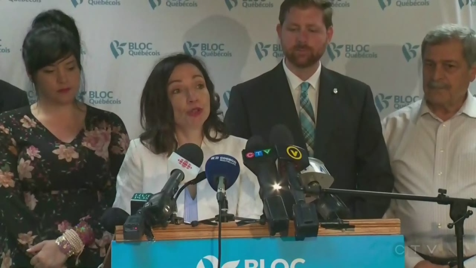 Martine Ouellet announced she will step down