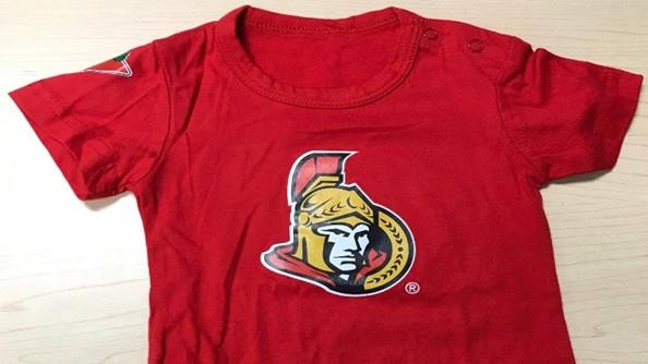 Ottawa Senators onesie