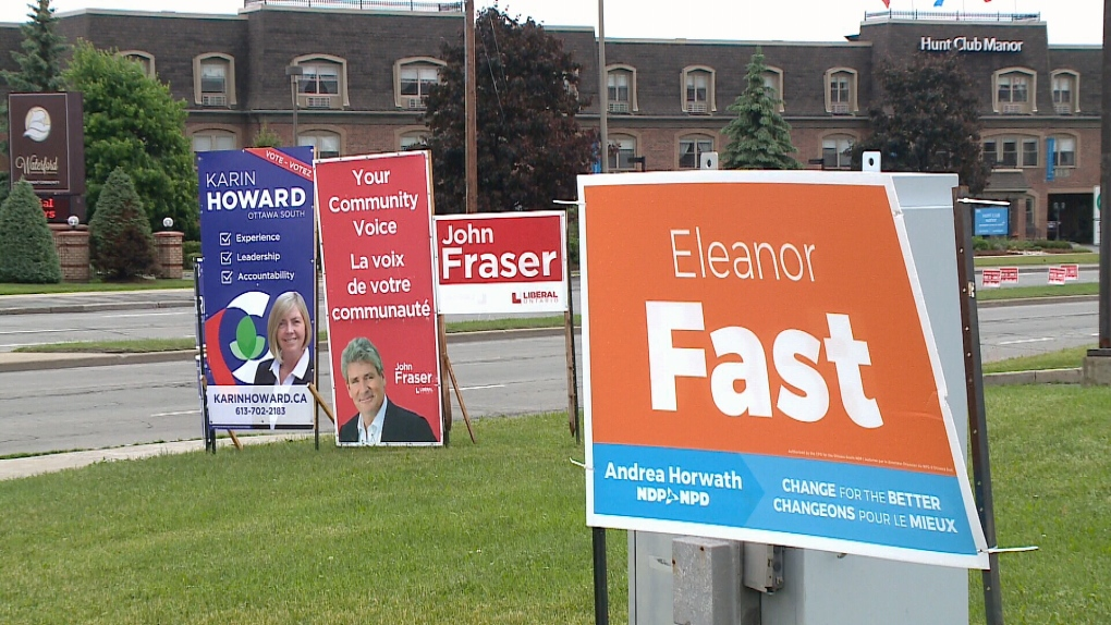 Candidates in Ottawa South